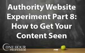 How to get your content seen