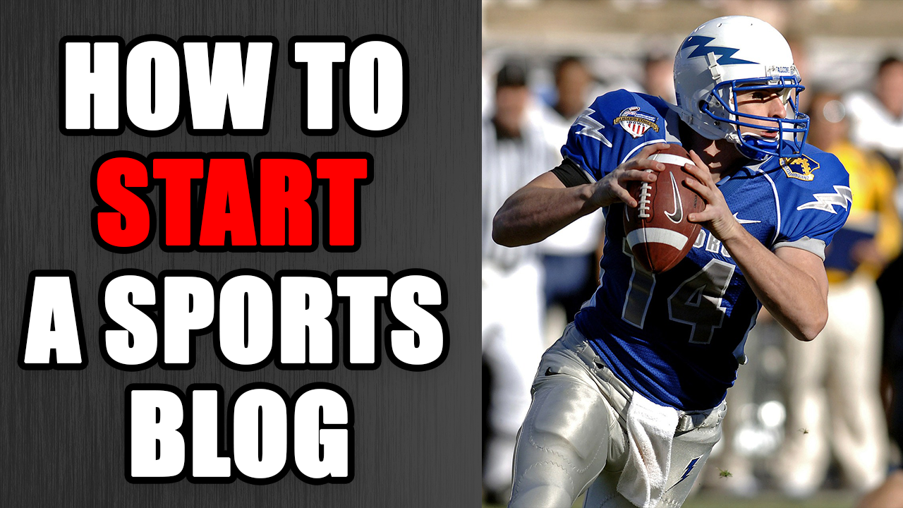 How to Start a Sports Blog in 2021 (and Make Extra Money)